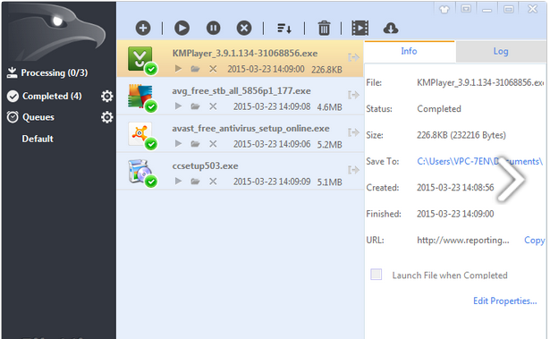 Photo of برنامج تحميل الملفات الحديث بورتابل EagleGet 2.0.4.5