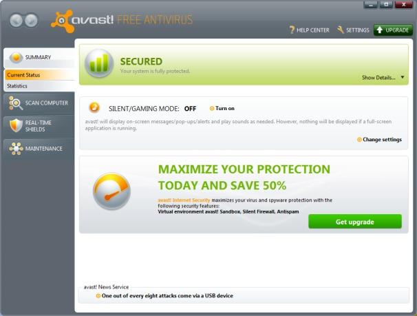 Photo of برنامج الحماية افاست انتى فيروس المجانى Avast Free Antivirus 10.4.2233
