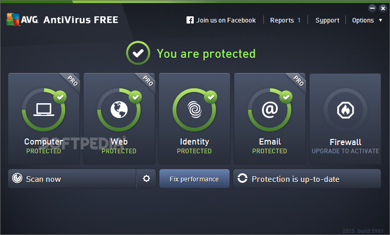 Photo of برنامج الحماية المجانى AVG Antivirus Free 2016 Build 7161