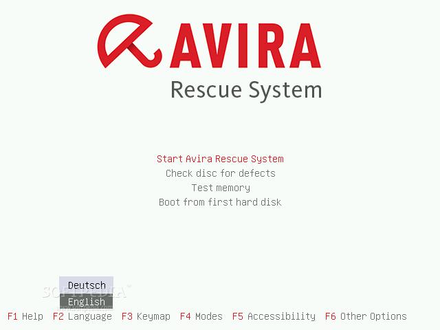 Photo of اسطوانة الطوارىء من افيرا للحماية اخر اصدار Avira Rescue System