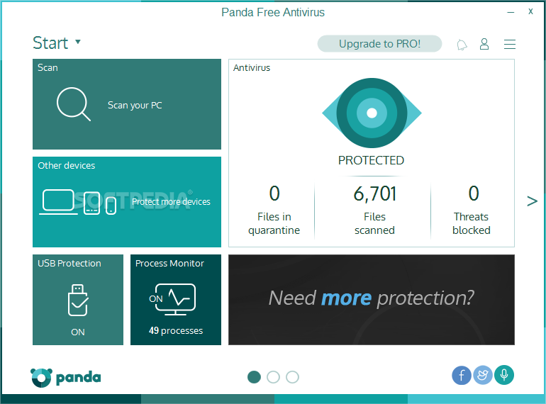 Photo of برنامج باندا للحماية الشاملة اخر اصدار Panda Free Antivirus 16.0.1