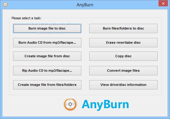 Photo of برنامج بورتابل لحرق الاسطوانات سريع اخر اصدار Portable AnyBurn 2.9