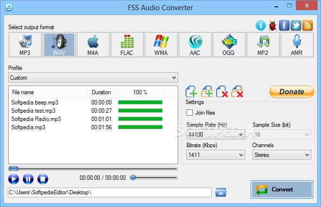 Photo of برنامج تحويل الملفات الصوتية من و الى صيغ اخرى FSS Audio Converter 2.0.9.2